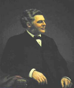 Gov. Bigelow portrait painting photo