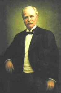 Gov. Chamberlain portrait painting photo