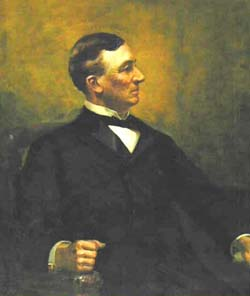 Gov. Coffin portrait painting photo