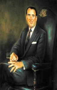 Gov. Dempsy portrait painting photo