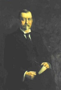 Gov. Holcomb portrait painting photo