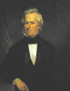 Gov. Holley portrait painting photo