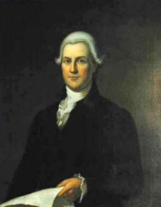 Gov. Huntington portrait painting photo
