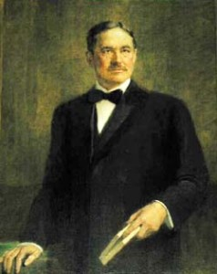 Gov. Lilley portrait painting photo