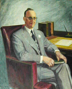 Gov. McCounaughy portrait painting photo