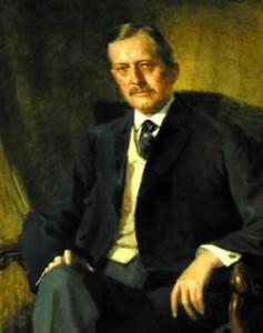 Gov. Roberts portrait painting photo