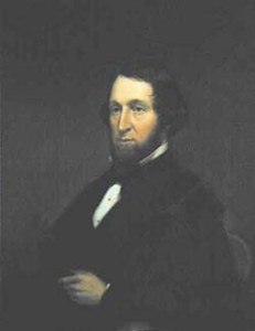 Gov. Seymour portrait painting photo