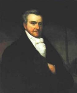 Gov. Smith portrait painting photo