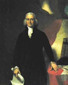 Gov. Trumbull portrait painting photo