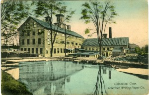 American Writing Paper Co., Unionville.