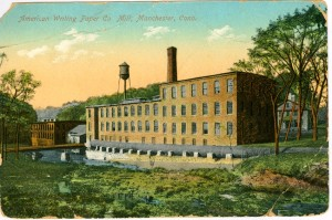 American Writing Paper Co. Mill, Manchester.
