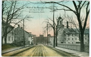 Mills of the American Thread Co., Willimantic.