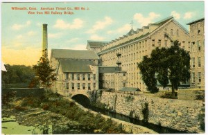 American Thread Co., Mill No. 2. Willimantic.