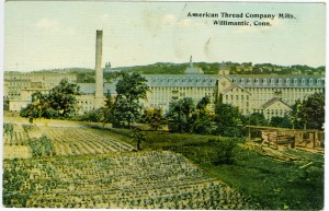 American Thread Mill Company Willimantic.