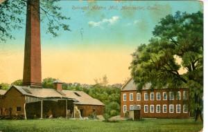 Ruins of Adams Mill, Manchester