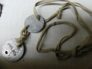 World War 1 Dog Tags