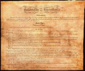 Connecticut Constitution of 1818