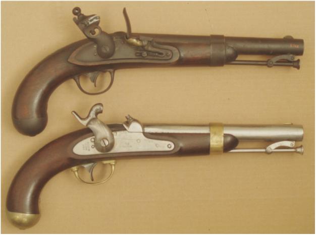 The U S  Model 1842 Pistol Gauages: Aston and Johnson
