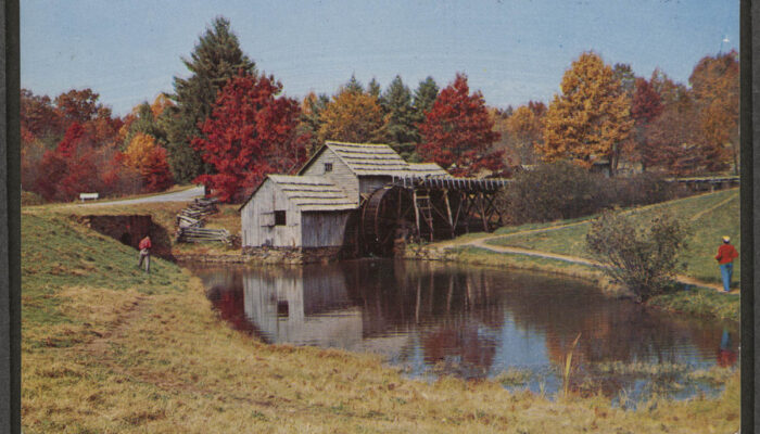 Postcard of Old Mill
