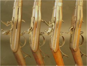 Hall Rifles: Flintlock and Percussion Ignition Conversions, Paired