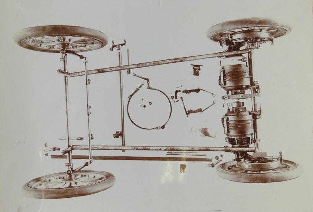 Model XIX Assembled Running Gear photo