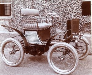 First 4 Wheel Gas Vehicle Made In Hartford