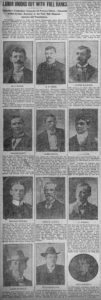 Newspaper clipping Waterbury Evening Democrat