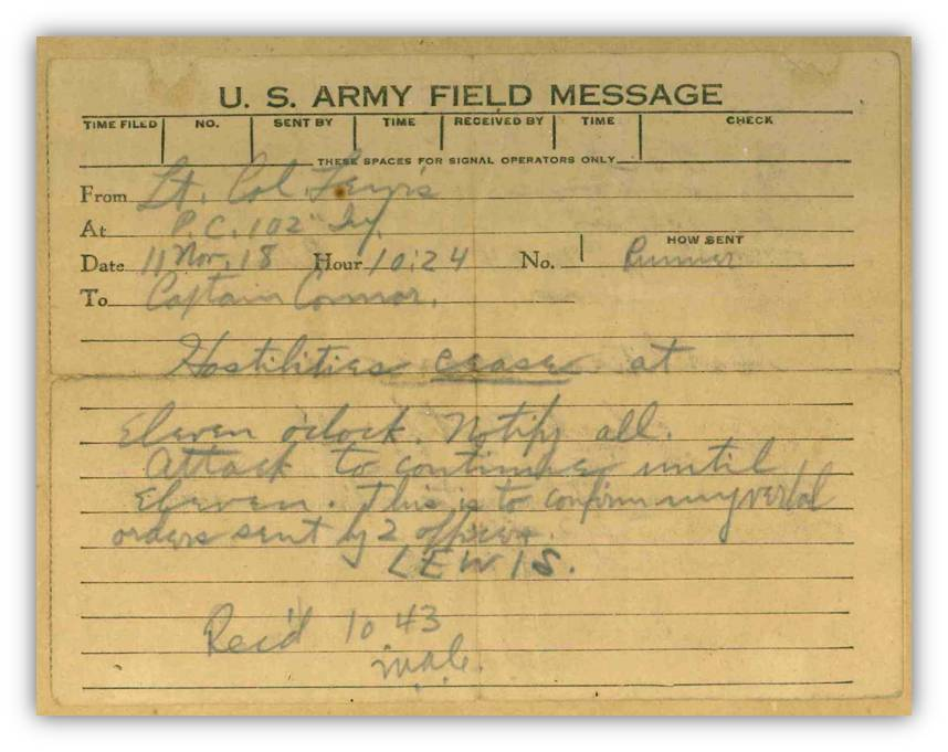 Field Message Photo
