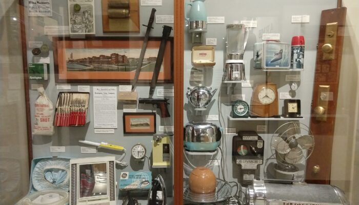 Connecticut Industry Display Case in the Museum of Connecticut History photo
