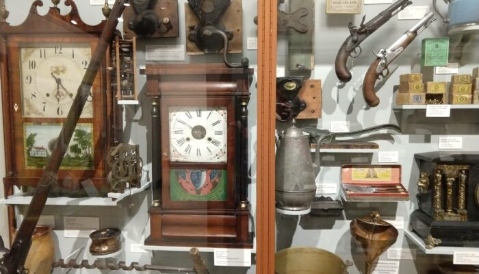 Display of Connecticut made items