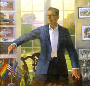 Portrait of Governor Dannel Patrick Malloy