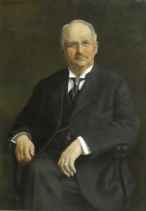 Gov. Woodruff portrait painting photo