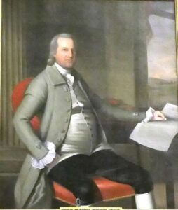 Portrait of Gov. Oliver Wolcott photo