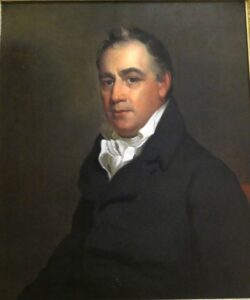 Portrait of Gov. Oliver Wolcott Jr.