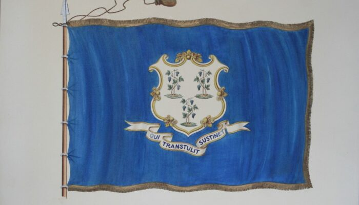 Connecticut State Flag 1897